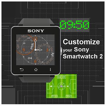 Sony SmartWatch2 Clockwidgets