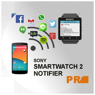 Sony SmartWatch2 Notifier